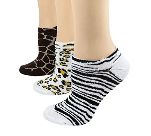 Women's 3 Pair Pack Socks - Various Colors - Jilly's Socks 'n Such