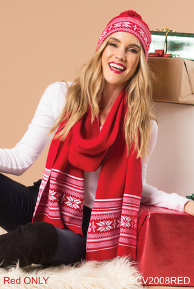 Snow It All Wrap Scarf