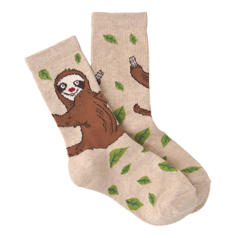 Kids Sloth Socks - Novelty Socks, Mens, Womens, Kids