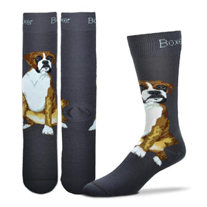 Boxer Socks - One Size - Novelty Socks, Mens, Womens, Kids