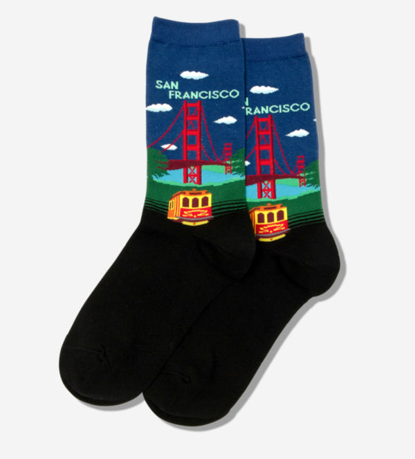 Women's San Francisco Socks - Novelty Socks, Mens, Womens, Kids