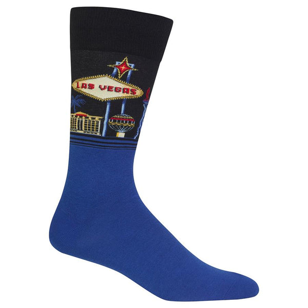 HotSox Mens-Las Vegas Socks - Jilly's Socks 'n Such