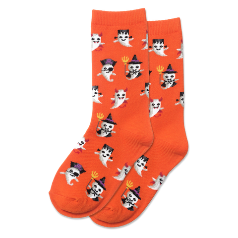 Kid's Ghost Socks - Novelty Socks, Mens, Womens, Kids
