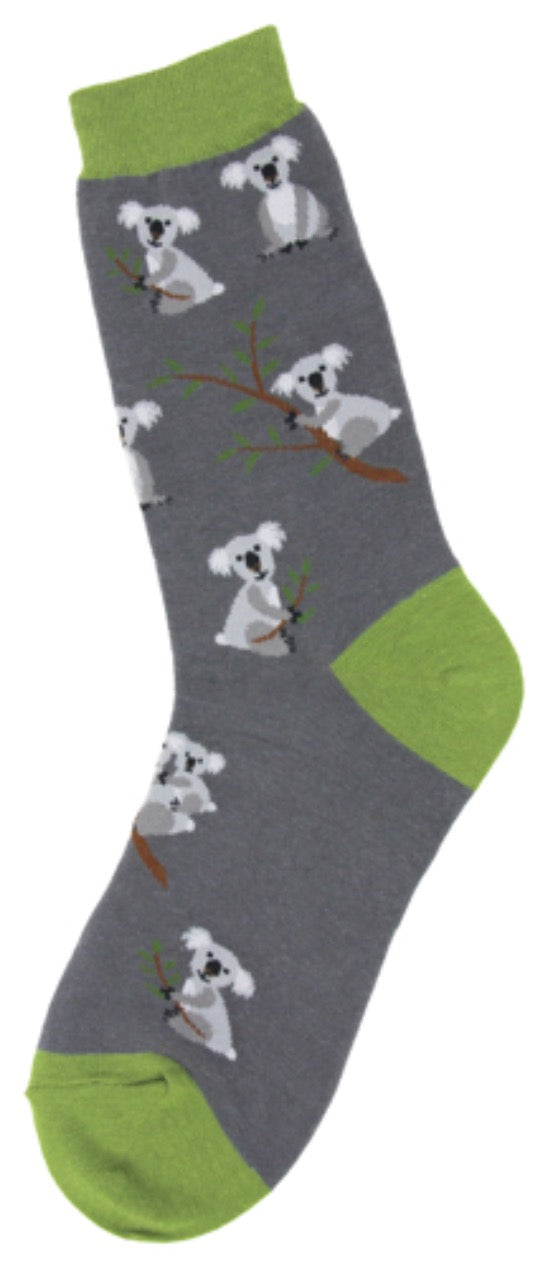 Women's Koala Cuties Socks - Novelty Socks, Mens, Womens, Kids