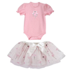 Baby Flamingo Onesie and Tutu Skirt - Jilly's Socks 'n Such