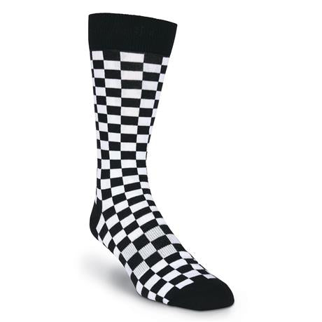 Mens Checkerboard Socks - Jilly's Socks 'n Such