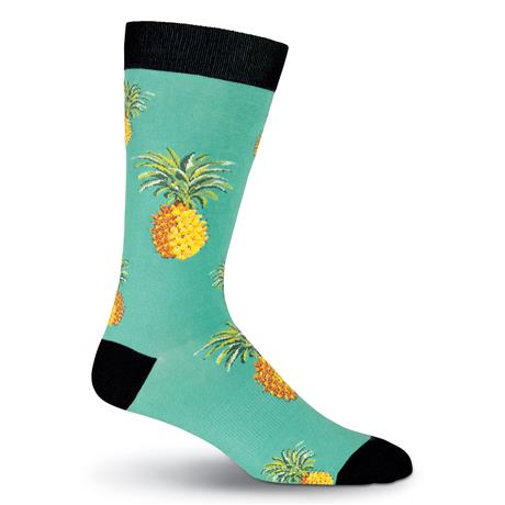 Mens Pineapple Socks - Novelty Socks, Mens, Womens, Kids