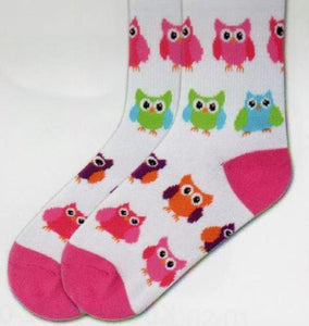 Kids-Owls Socks - Novelty Socks, Mens, Womens, Kids