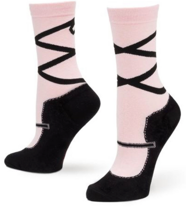 Women's Black Ballet Socks - Novelty Socks, Mens, Womens, Kids