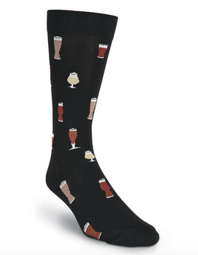 Men's Beer Pint Socks