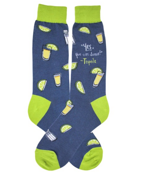 Mens Tequila Socks - Jilly's Socks 'n Such