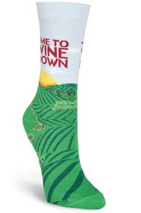 Women's Time to Wine Down Socks