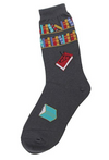 Women's Books Socks - Novelty Socks, Mens, Womens, Kids