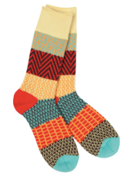 Women's World's Softest Socks - Fiesta - Novelty Socks, Mens, Womens, Kids