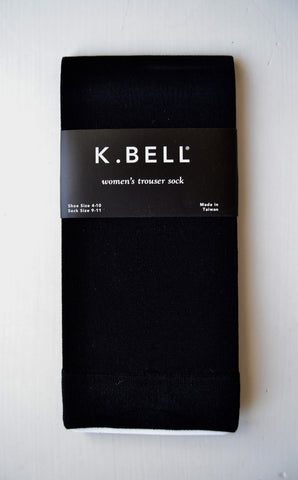 Trouser Sock-Sheer Black