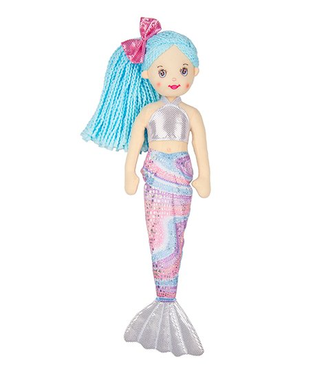 Stuffed Plush Mermaid Gift - Novelty Socks, Mens, Womens, Kids