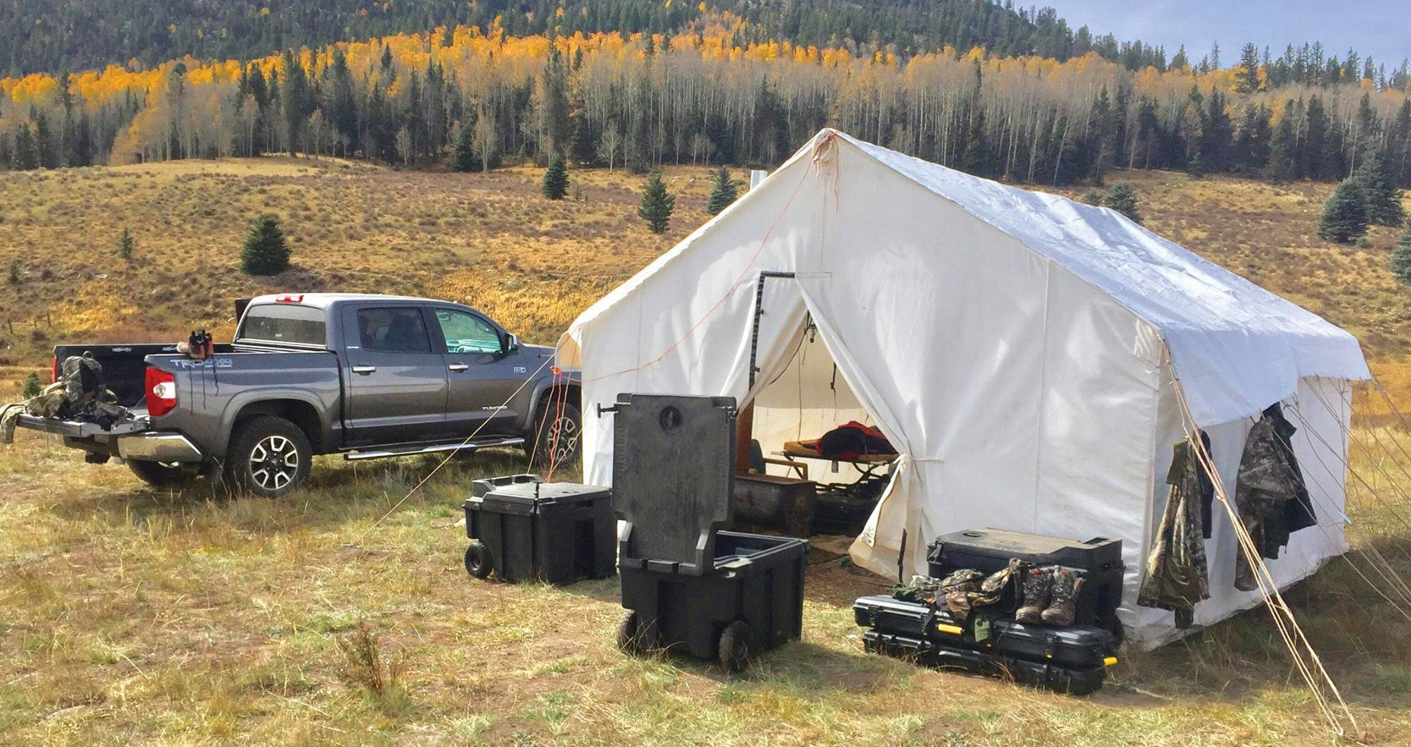 MOBILE STORAGE FIT FOR THE OUTDOORS