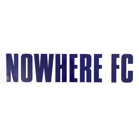 Copy of Football Concierge Sponsor -Nowhere FC Purple