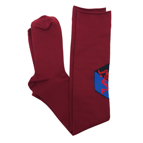 NOWHERE FC TEAM SOCK - MAROON