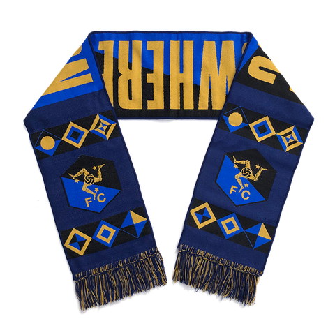 NOWHERE FC STADIUM SCARF - NAVY