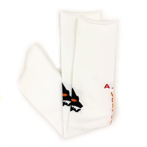 AS ROMA TEAM SOCK - WHITE