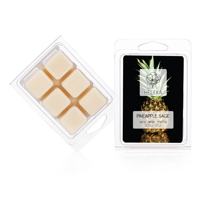 Pineapple Sage Soy Wax Melts