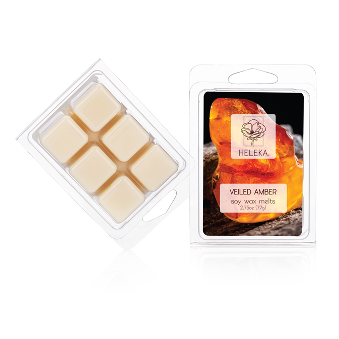Veiled Amber Soy Wax Melts