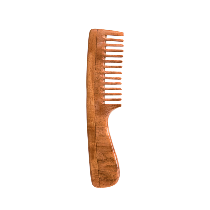 Neem Wood Wide-Tooth Comb
