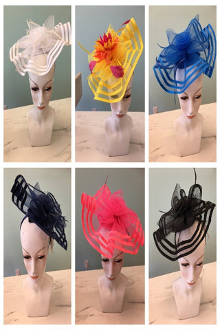 Fascinator in 6 colors-Sandi's Styles
