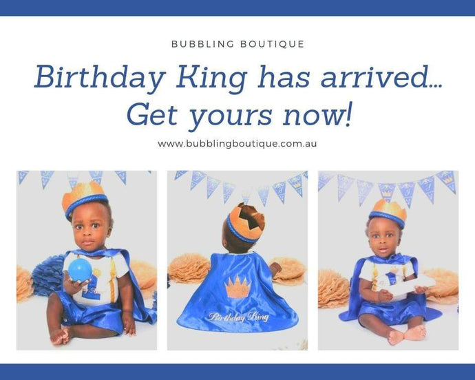 Little King Boys Cake Smash Outfit / 1st Birthday outfits now available