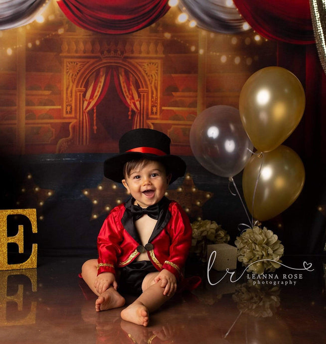 Circus Ringmaster Boys 1st Birthday or Cake Smash outfit