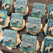Edible Storybook Cupcake Toppers