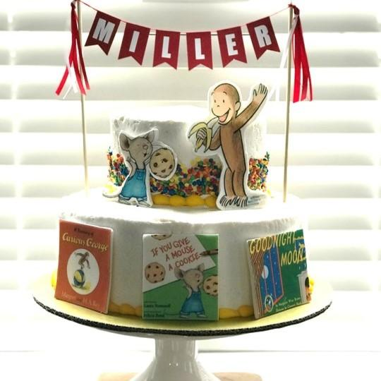 Edible Storybook Cake Decorations