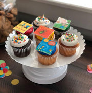 Edible Storybook Cupcake Toppers - Merry Go Sweets