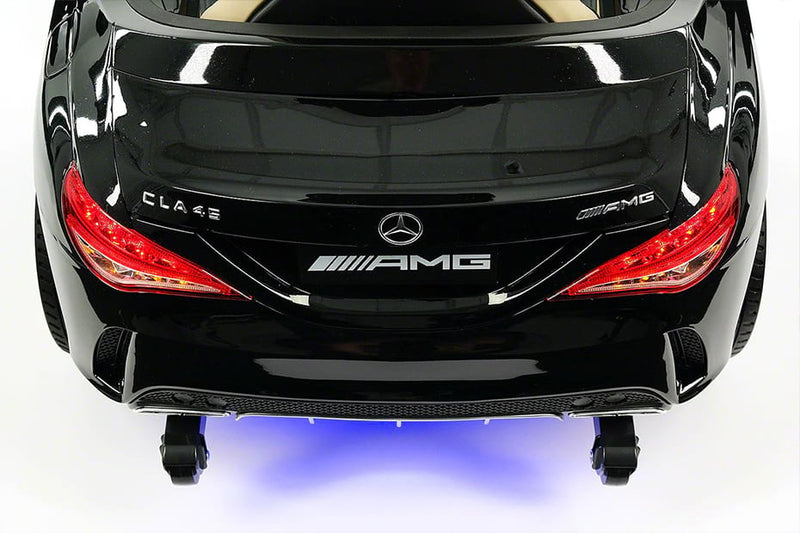 Mercedes CLA45 AMG Ride On Car - Shinny Black - Jay Goodys