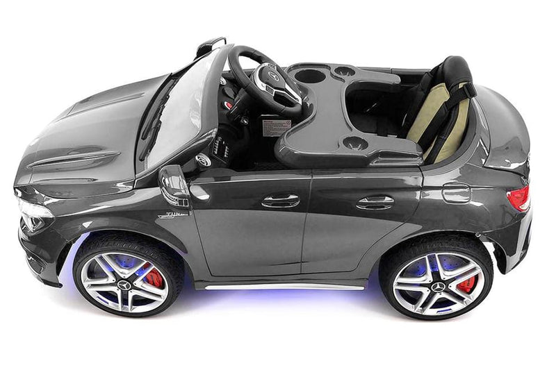 2020 Mercedes CLA 12V Ride On Car for Kids with Remote, Dining Table, Leather Seat, Lights - Jay Goodys