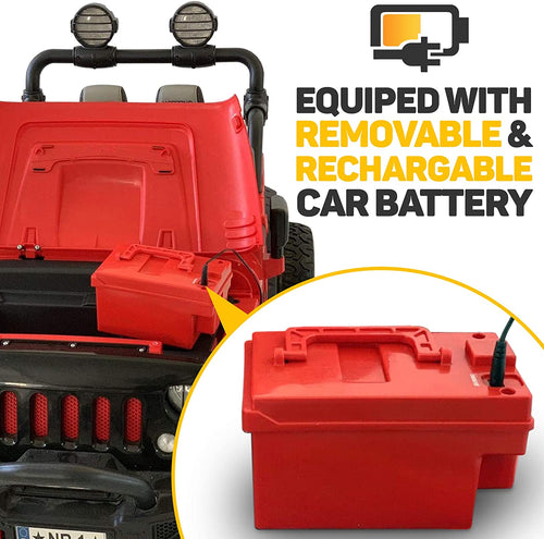 Swappable 12V Battery Only Tor Two (2) Seater Ride On Kids Car Truck or Explore - Jay Goodys