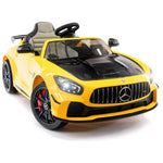 2020 Mercedes GT 12V Ride On Car for Kids with Remote, Touch Screen TV, Leather Seat, Lights - Jay Goodys