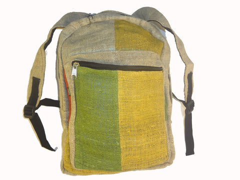 Hemp backpacks from Visu Craft