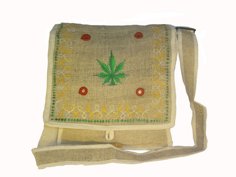 Hemp handbags from Visu Craft