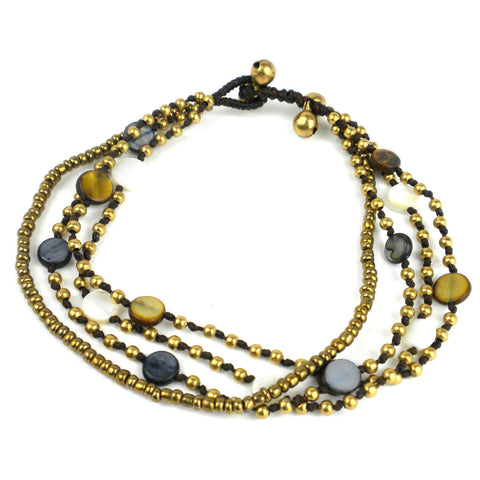 Many Moons Anklet - Multi - Global Groove (J)