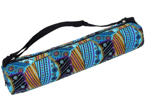 Om Turquoise Yoga Mat Bag - Global Groove (Y)