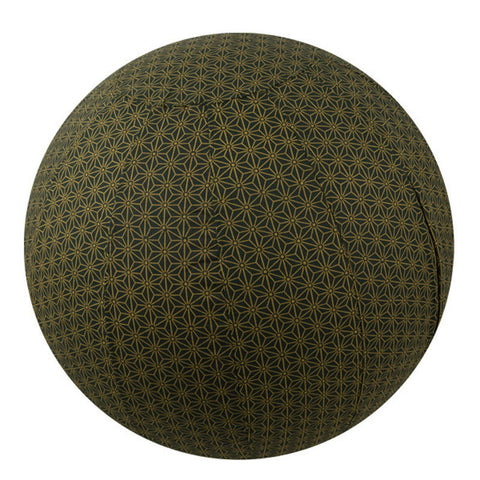 Yoga Ball Cover Size 65cm Design Olive Geometric - Global Groove (Y)