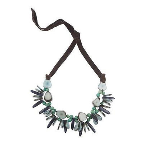 Rhumba Necklace in Quarry Handmade and Fair Trade
