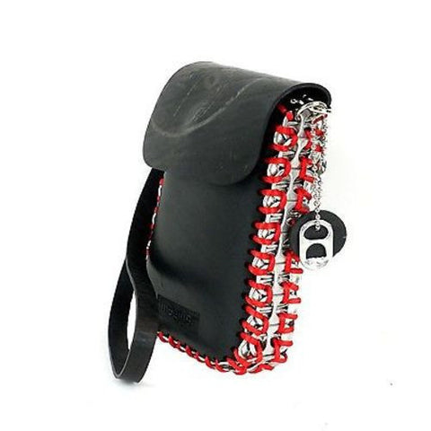 Tire and Poptop Smartphone Bag - Red Handmade and Fair Trade