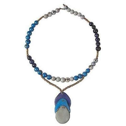 Cuenca Necklace - Bluebird Handmade and Fair Trade