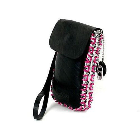 Tire and Poptop Smartphone Bag - Pink Handmade and Fair Trade
