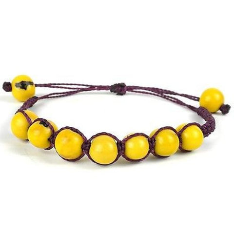 Costa Bracelet - Lemon Handmade and Fair Trade