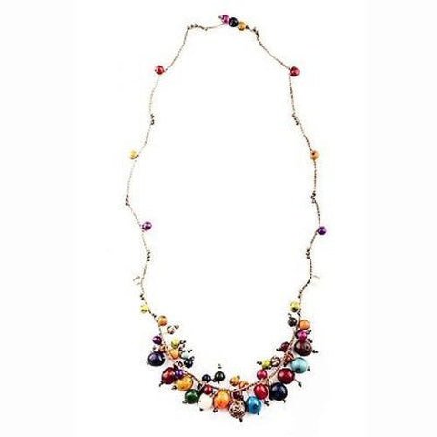 Cloud Forest Necklace in Multicolor Handmade and Fair Trade