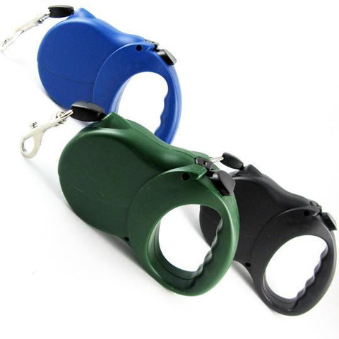 Retractable Pet Leash-Colors Green